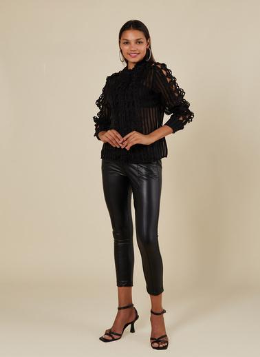 Coral Bluz Siyah